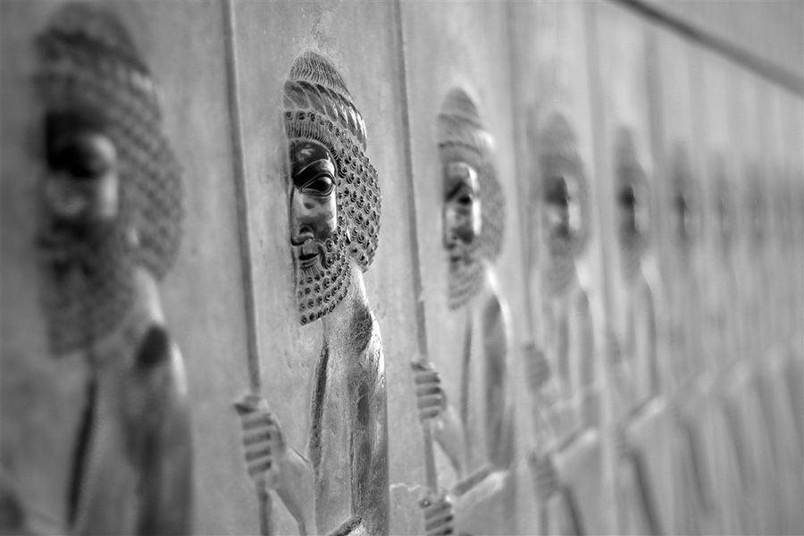 Bass relief in Persepolis