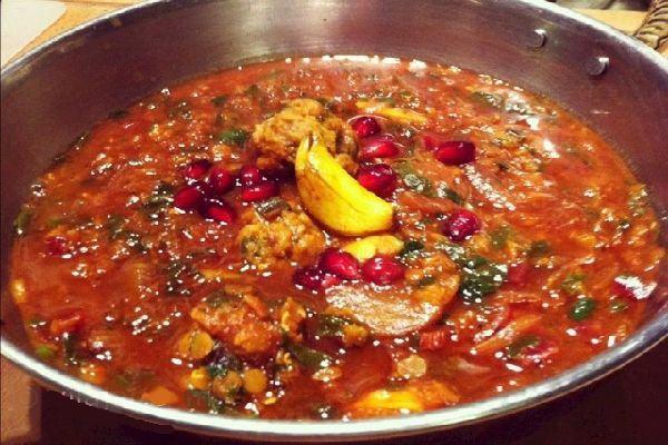 Ash e Miveh - Persian food