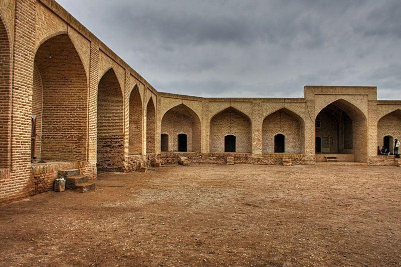 Safavid Caravanserai in Maranjab Desert