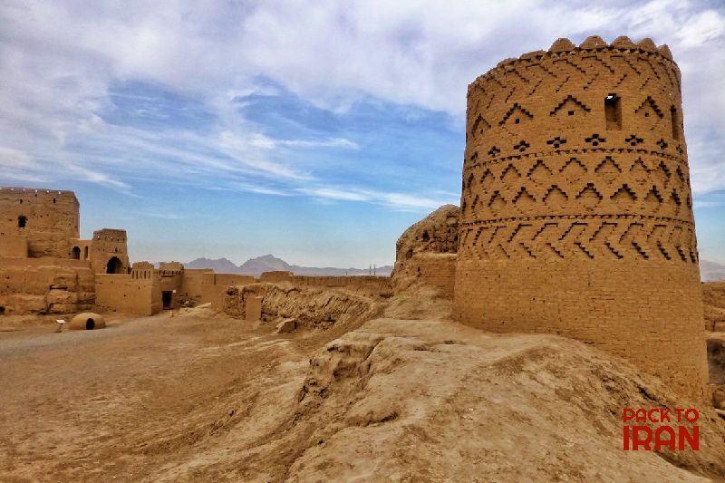 Narin Castle in Khoor Desert. Iran
