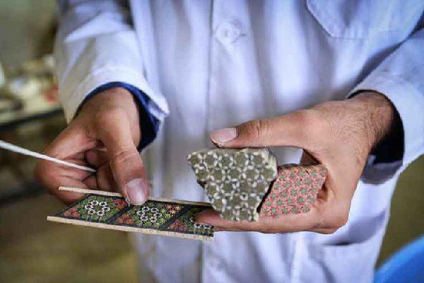 Khatam Kari - Persian handicrafts