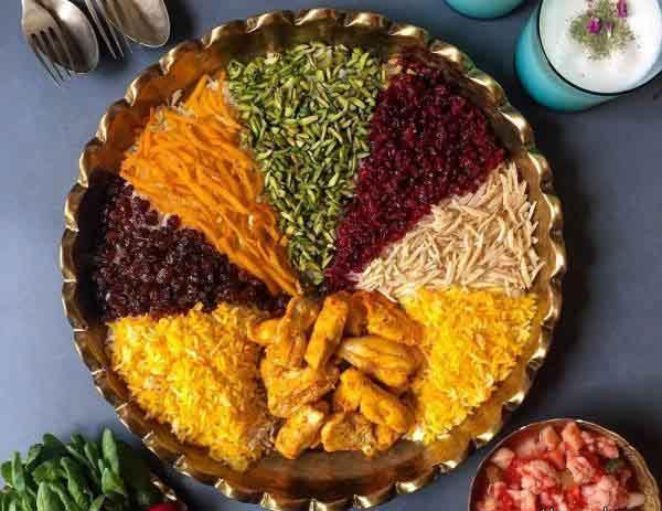 Morasa Polo (Jeweld Rice) - Iranian cuisine