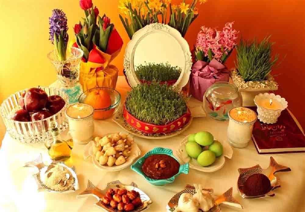 Haft Seen (Haftsin) Table - Iran