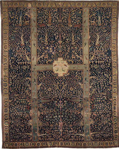 Antique Persian Garden Carpets