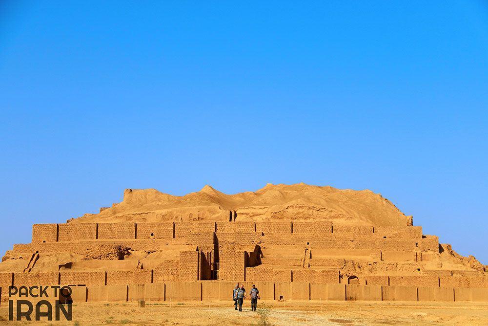 Chogha Zanbil Ziggurat - Elamite - Khuzestan, Iran