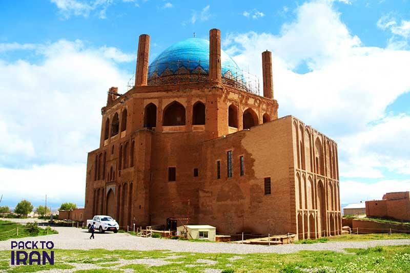 Sultaniyeh Dome - Ilkhanid - Zanjan, Iran