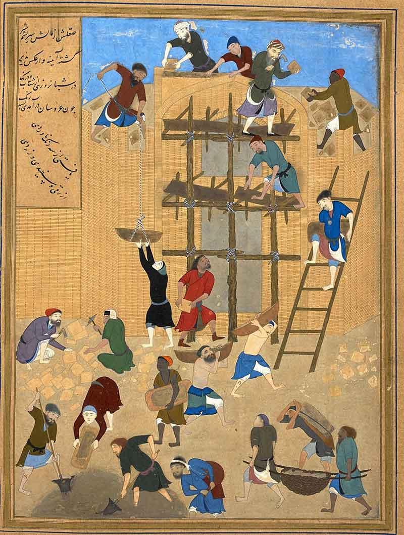 Iranian miniature - Teimurid