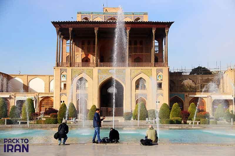 Ali Qapu Palace of Naqsh-e Jahan Square - Safavid - Isfahan, Iran