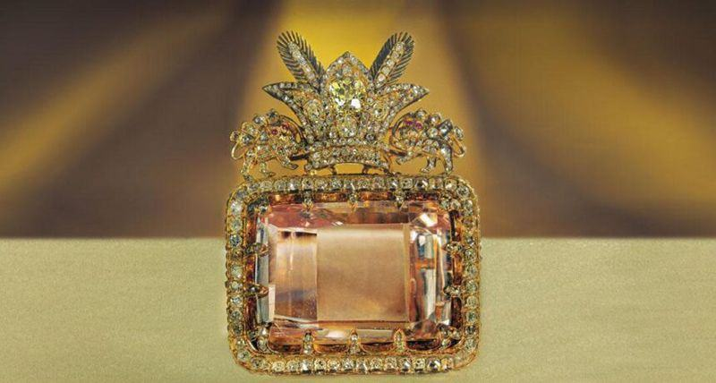 The Sea of Light Diamond - Treasury of National Jewels - Tehran, Iran