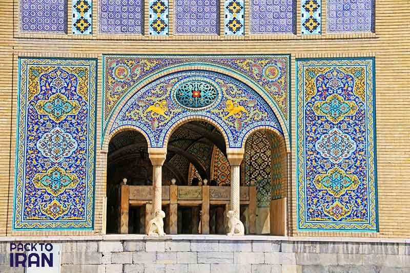 Golestan Palce - Qajarid - Tehran, Iran