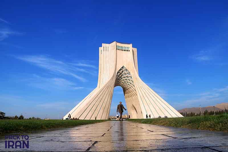 Azadi Tower - Pahlavi - Tehran, Iran