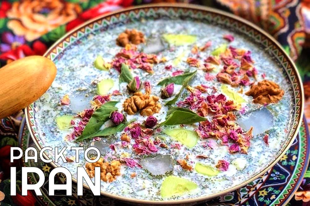Ab Doogh Khiar - Iranian food