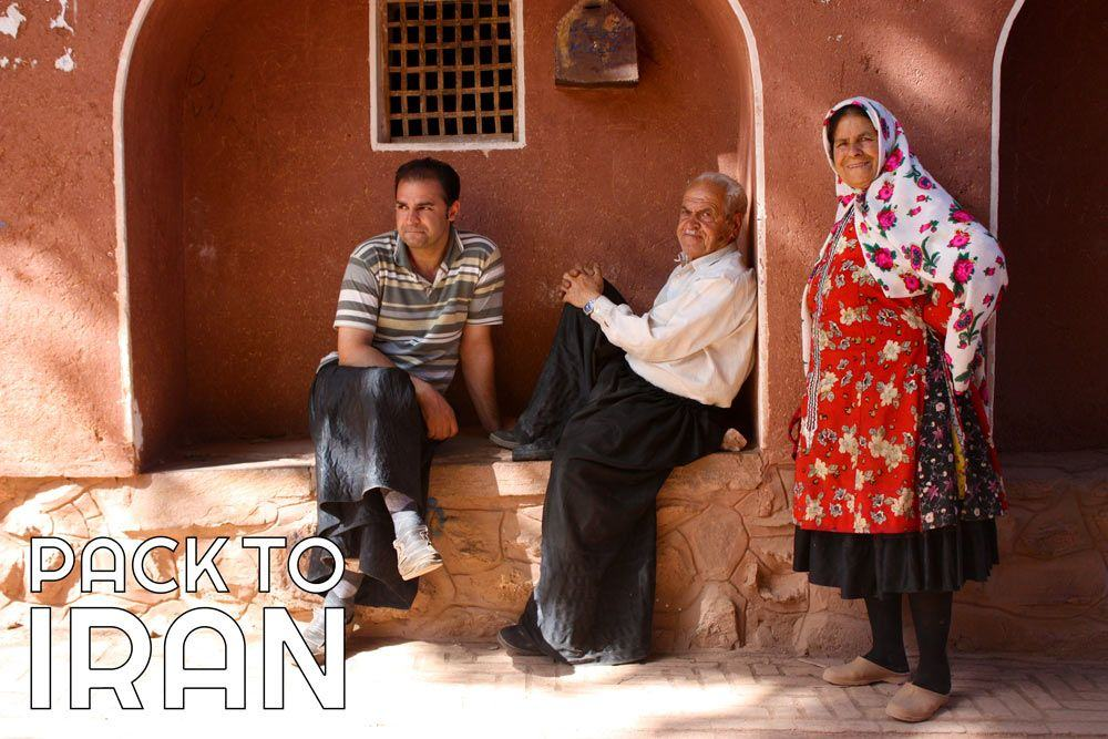 Locals of Abyaneh Village