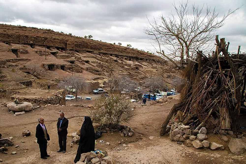 The locals of Meymand Village