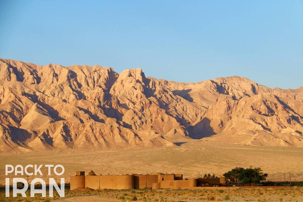 Zeinoddin caravanserai - Yazd, Iran
