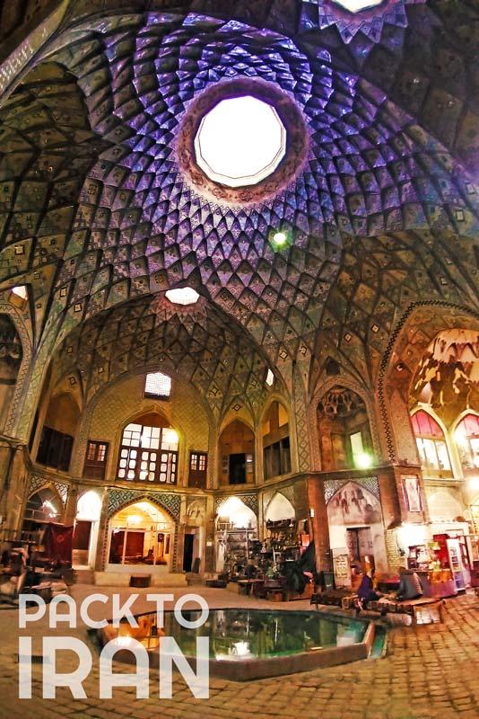 Timche-ye Amin od-Dowleh of Kashan Bazaar - Kashan, Iran