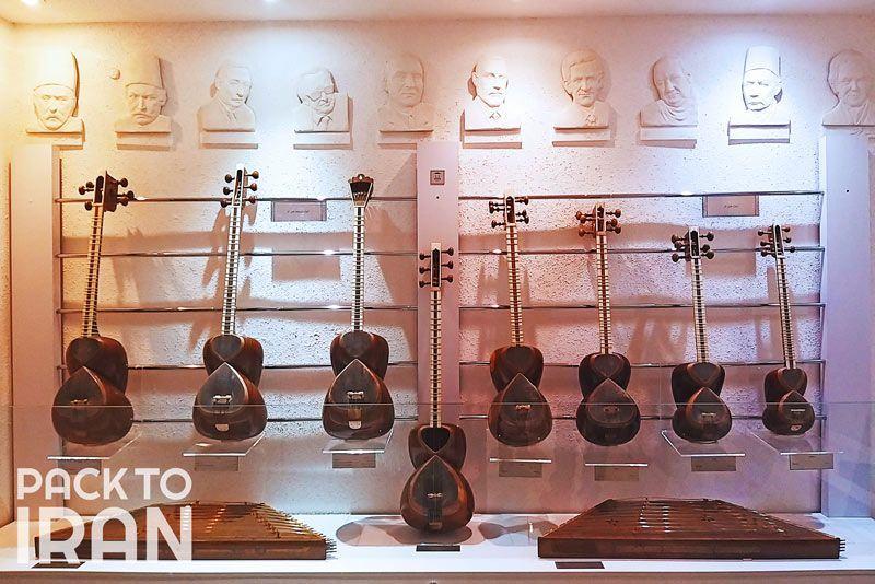 Instruments at Isfahan Music Museum