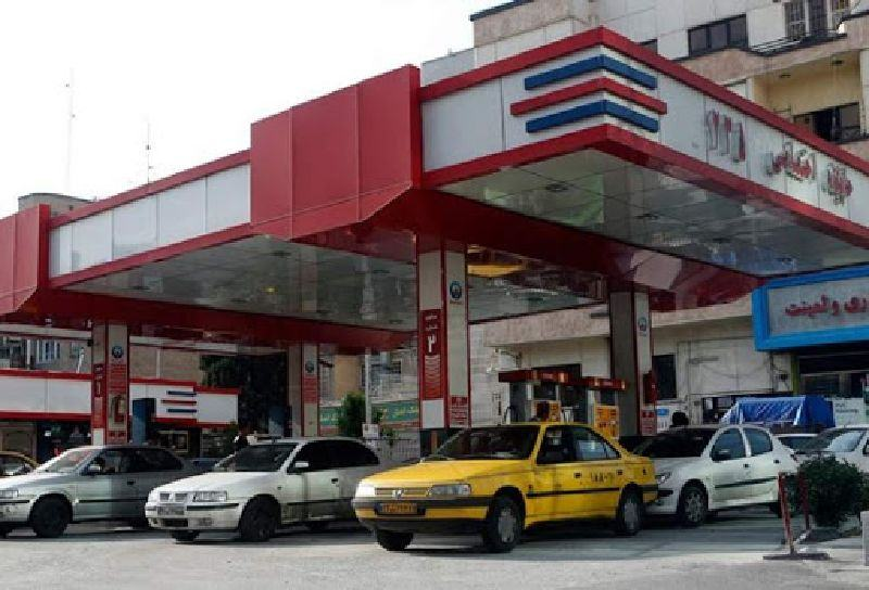 A fuel station in Iran - traveling to Iran with private car