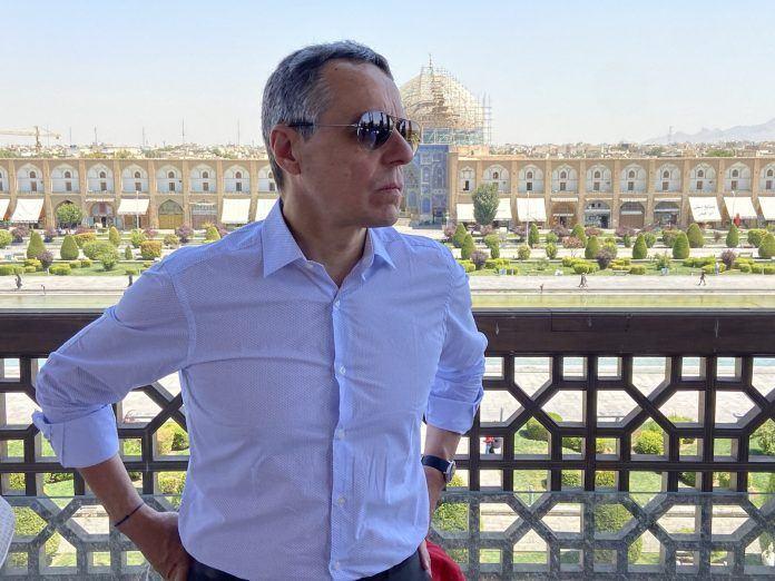 Visiting Isfahan