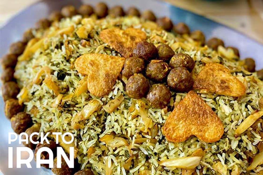 kalam Polo - Shiraz local food