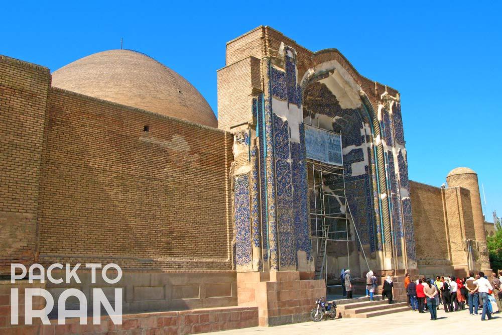 Blue Mosque - Tabriz, Iran
