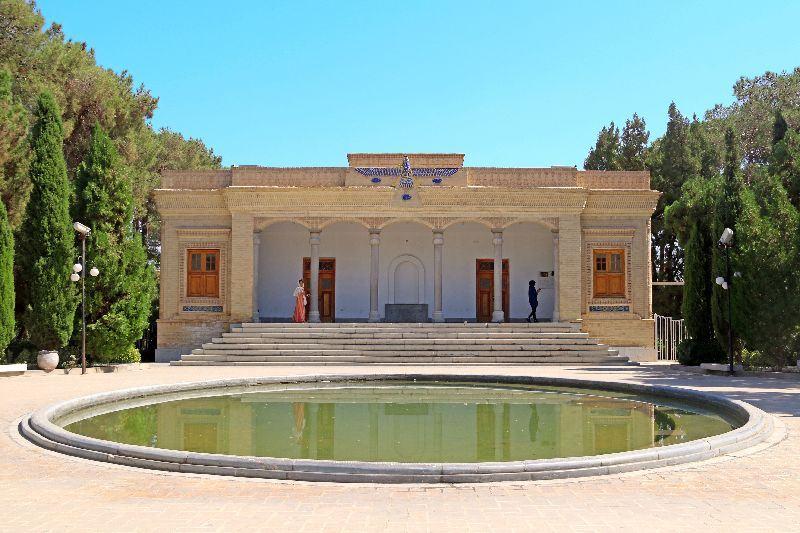 The Zoroastrian Fire Temple of Yazd