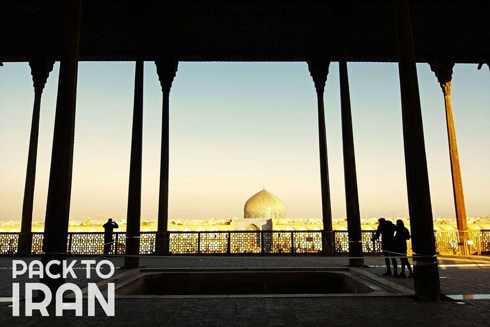 Ali Qapu Palace- Isfahan, Iran