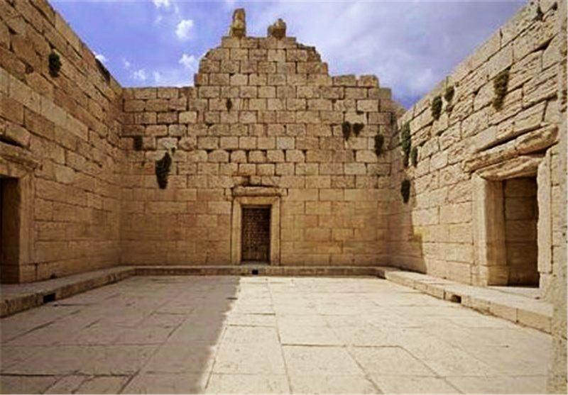 Anahita Temple of Bishapour - Fars, Iran