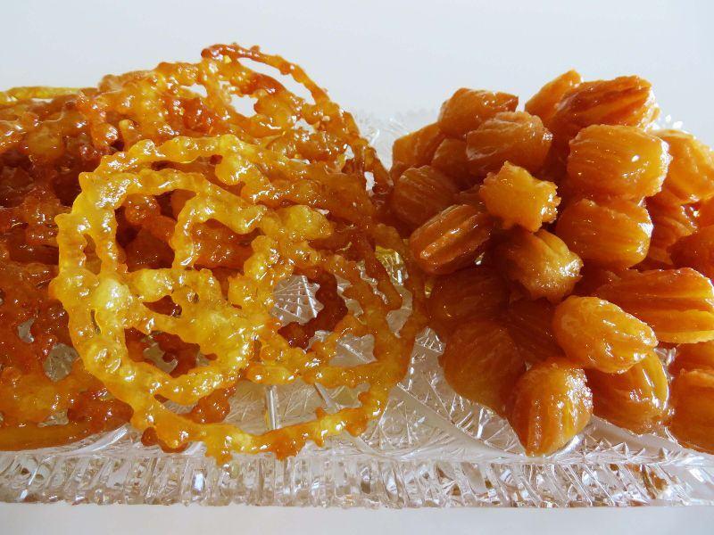 Zoolbia-Bamieh - Persian culinary
