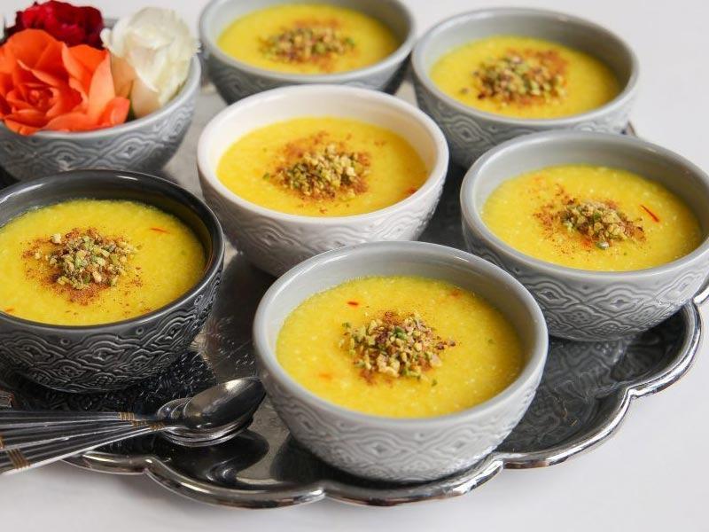 Sholezard - Persian culinary