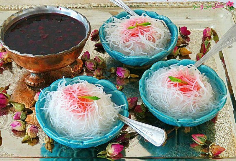 Faloodeh - Persian culinary