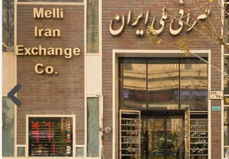 Exchange shop in Iran