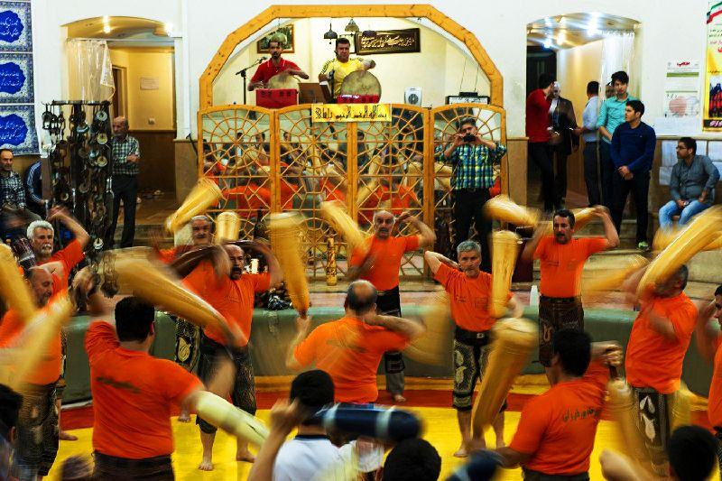 Pahlevani and Zoorkhaneh rituals - Iran