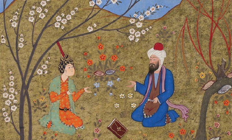 Miniature painting Iran