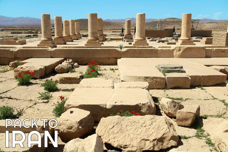 The ancient city of Pasargadae - Iran