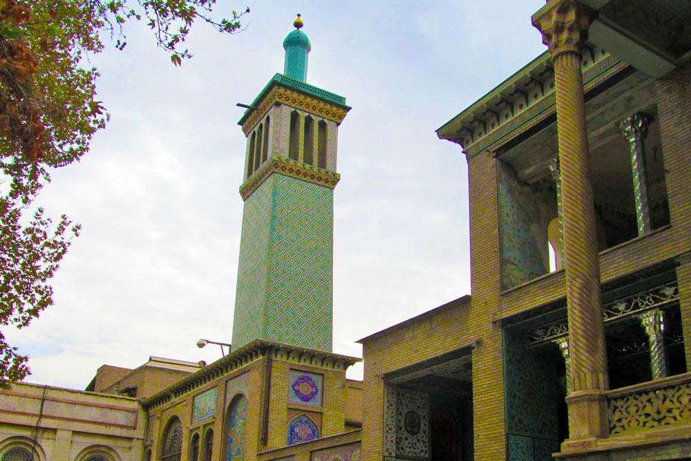 The Windcatchers Palace - Golestan Palace - Tehran, Iran