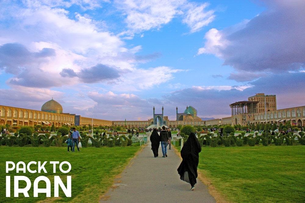 Naqshe Jahan Square - Isfahan, Iran