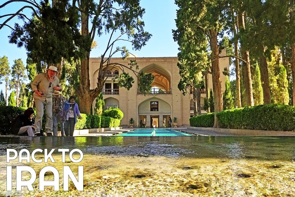 Iran tours with PackToIran - Fin GArden, Kashan, Iran