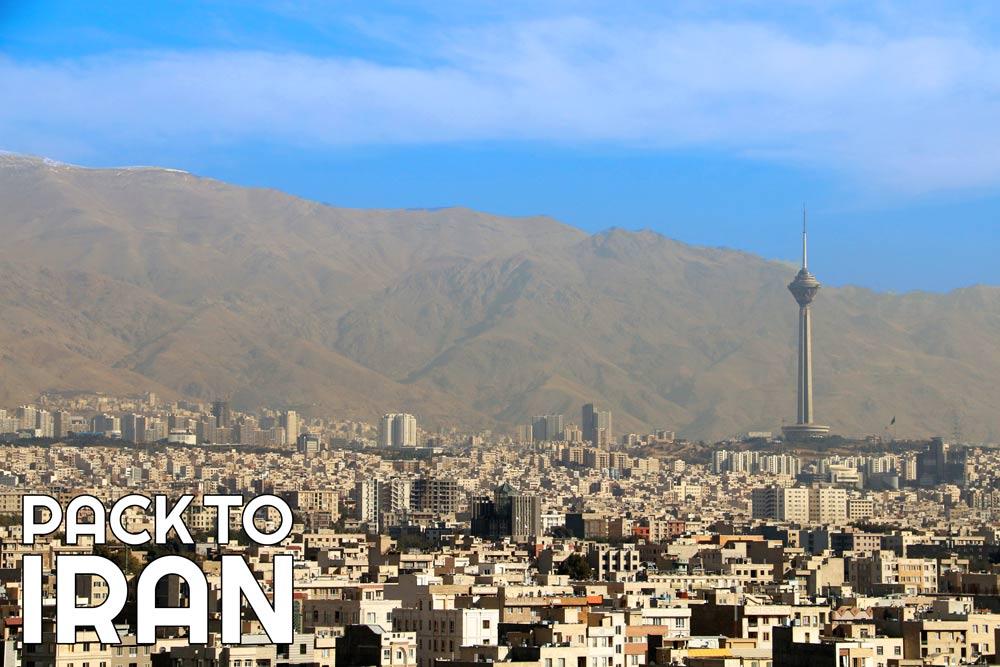 Tehran city overview