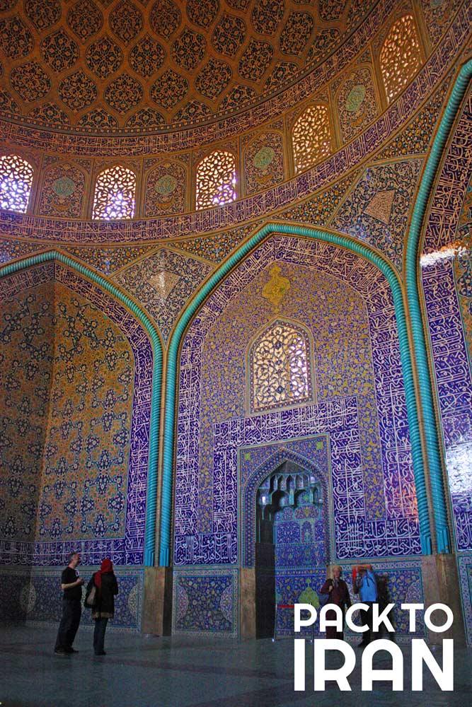 The Sheikh Lotfollah Mosque - Isfahan, Iran