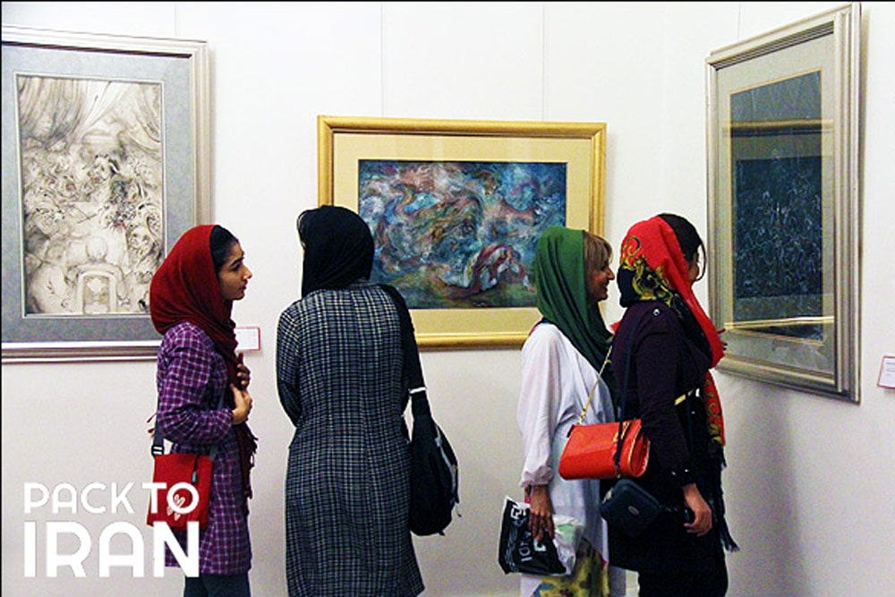 Master Farshchian Museum -Sa'dabad Complex - Tehran, Iran