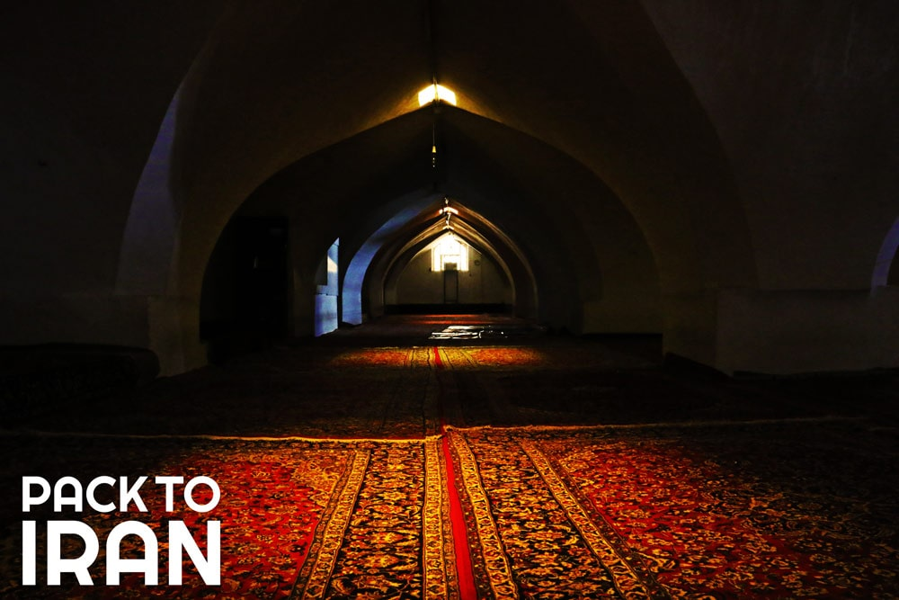 Jaame Mosque of Isfahan - The winter Shabistan