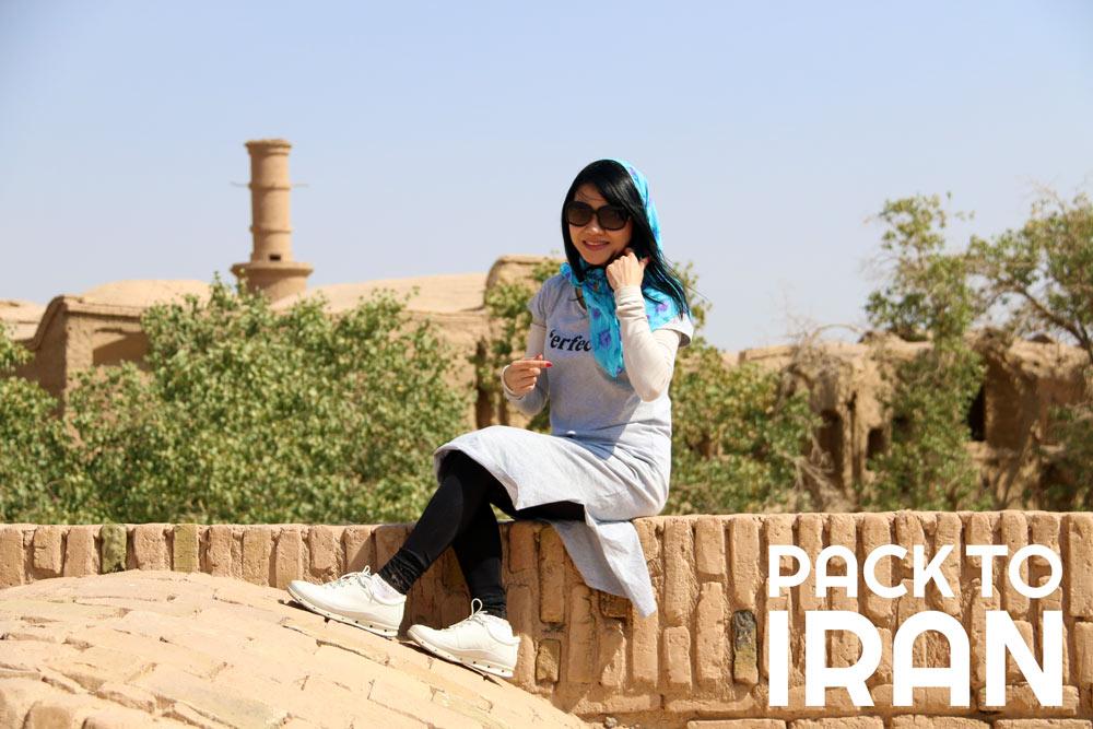 Solo female travelers in Iran - Yazd