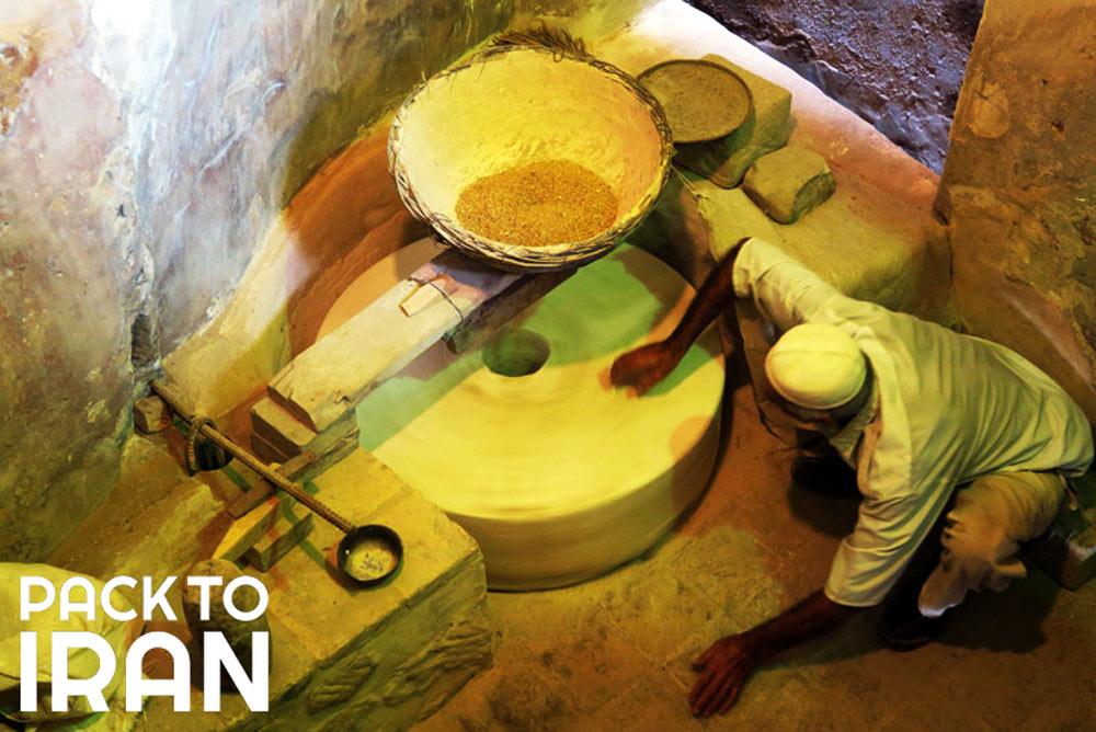 Watermills in Band-e Mizan - Shushtar Historical Hydraulic System