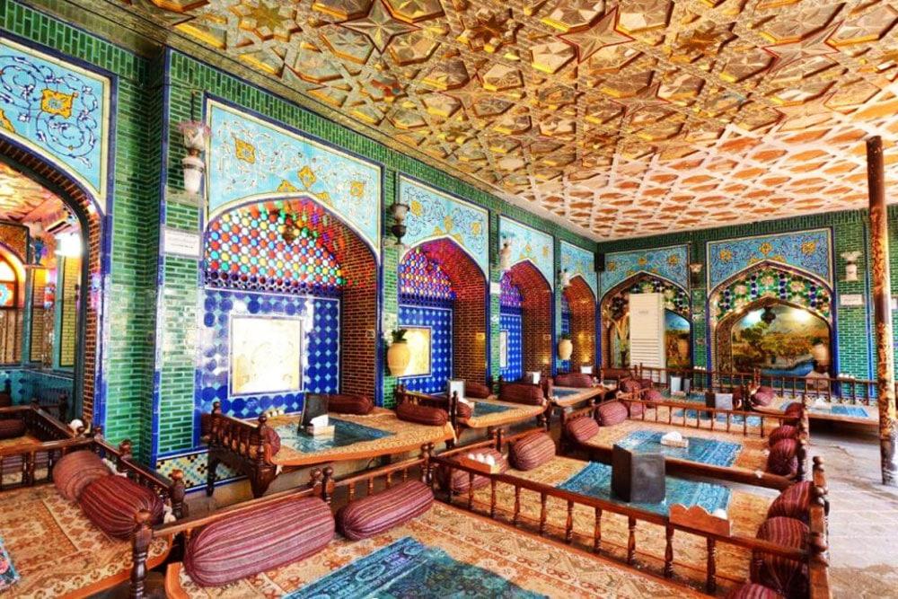 Naqshe Jahan Restaurant - Isfahan, Iran