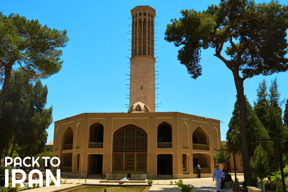Dowlat Abad Garden (Hashti Mansion) - Yazd, Iran