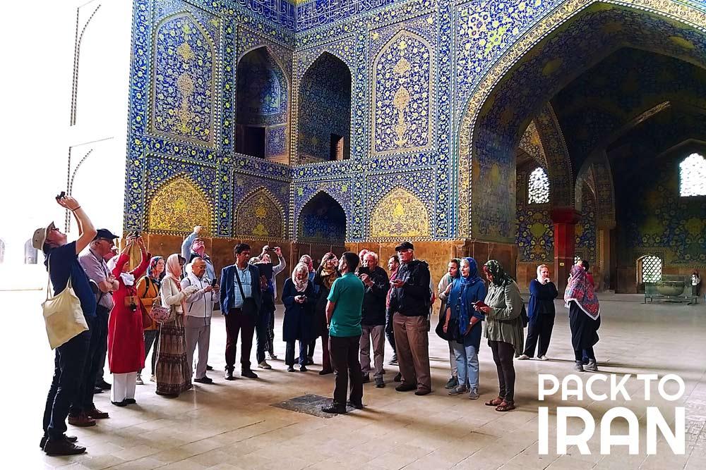 Imam Mosque (Shah Mosque) - Isfahan, Iran