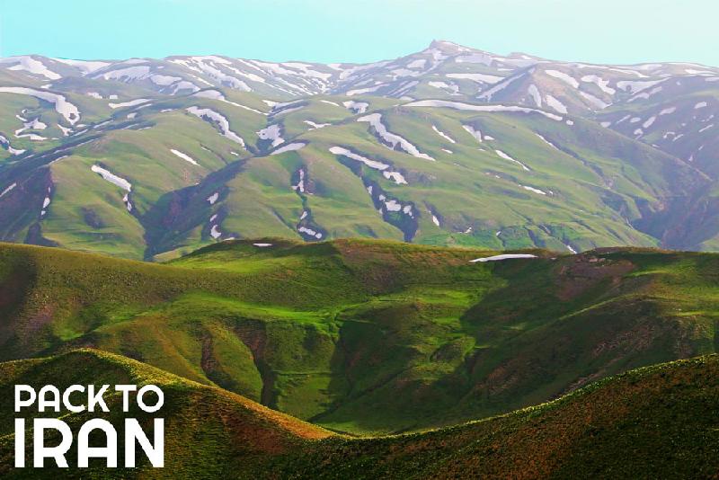 Four-season Iran nature