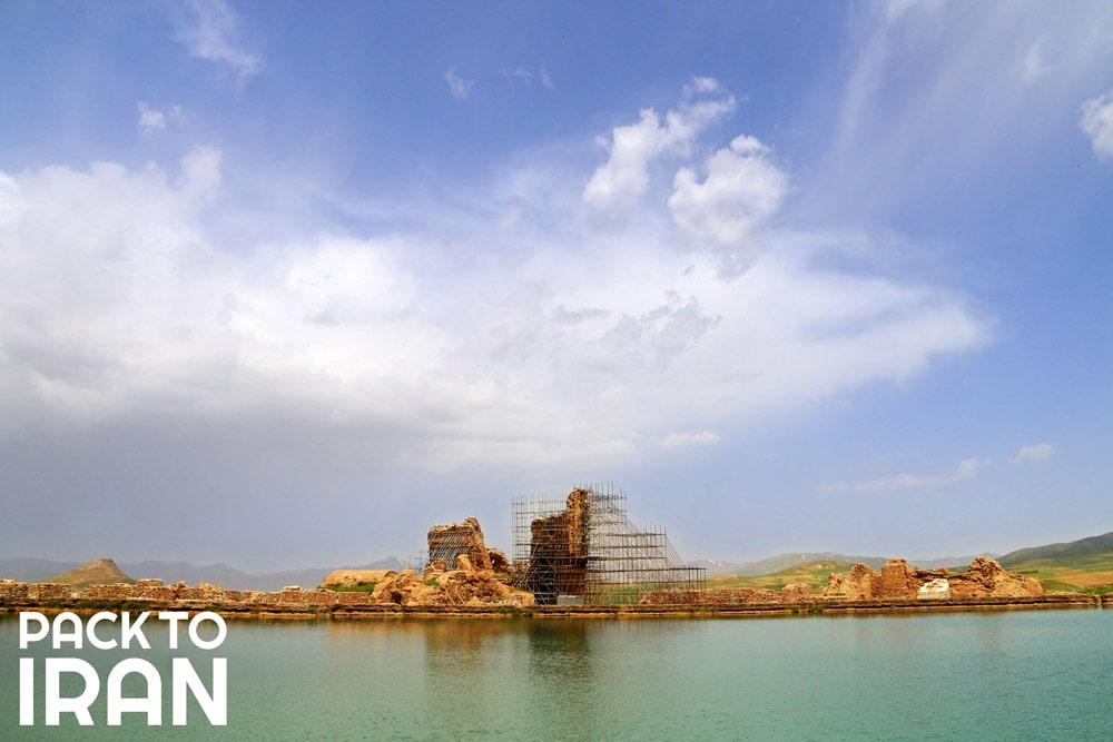 Takht-e Soleyman -UNESCO World Heritage Site in Iran