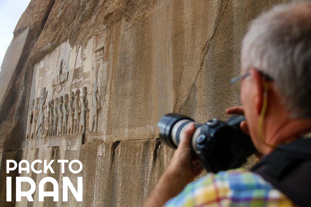 The Behistoun Relief - UNESCO World Heritage Site in Iran